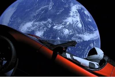Impresionantes imágenes del vehículo autónomo que recorrió el espacio