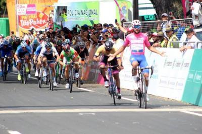 Fernando Gaviria repitió triunfo en la carrera Colombia Oro y Paz