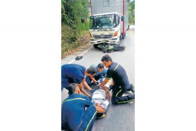 Dos heridos en accidente  de tránsito en Piedecuesta