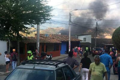 Incendio en Bellavista dejó varias pérdidas materiales