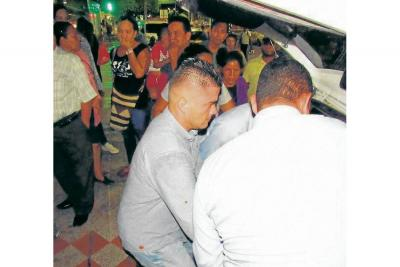 Cobrador murió en accidente de tránsito
