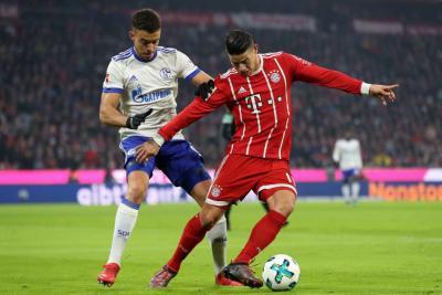 Con James en la cancha, Bayern Múnich venció 2-1 al Schalke