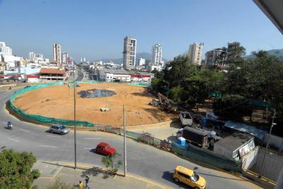 Alcaldía reinició las obras en el Mesón de los Búcaros