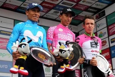 Egan Bernal, campeón de la carrera Colombia Oro y Paz