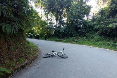 Familia pide que se investigue muerte de ciclista en la vía entre Tona y Bucaramanga