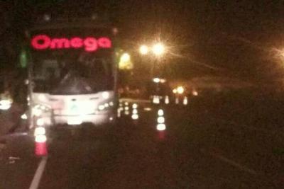 Un muerto y dos heridos dejó accidente entre Bucaramanga y Barrancabermeja