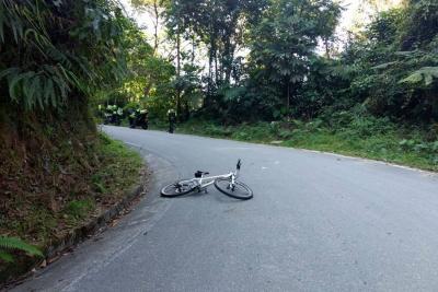Misterioso accidente en el que falleció un ciclista bumangués
