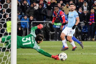 Manchester City se dio un paseo en Basilea y ya piensa en cuartos