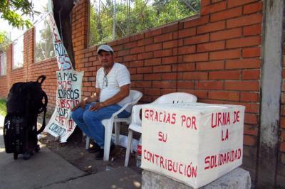 Completa una semana en huelga de hambre en Barrancabermeja