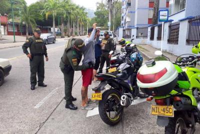 El año pasado se robaron 146 motocicletas en Floridablanca