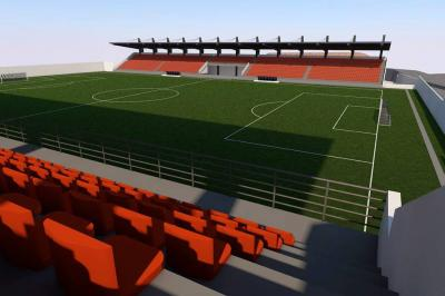 Estadio Villaconcha, a recuperación en abril