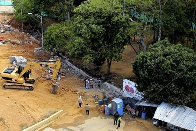Hoy harán protesta para rechazar obras del Mesón en la Normal de Bucaramanga
