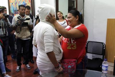 Madre en Piedecuesta encuentra a su hija después de 13 años de haber sido raptada