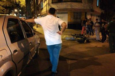 Motociclista murió al chocar contra un vehículo en Bucaramanga