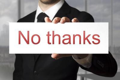Cómo rechazar una oferta de trabajo sin quedar mal