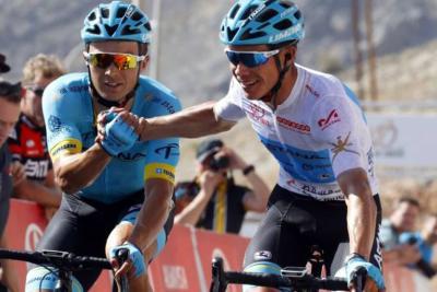 Colombiano Miguel Ángel López ganó etapa reina en el Tour de Omán
