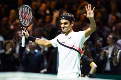 Federer ganó Rotterdam por tercera vez