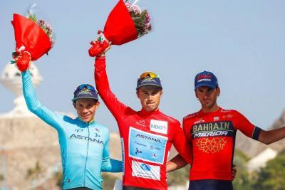 Miguel Ángel López, campeón juvenil en el Tour de Omán