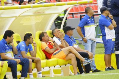 """""""El primer tiempo fue de lo más flojo que tuvimos en Bucaramanga"""": Cagna"""