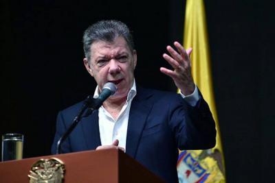 Santos afirmó que el problema más grande de Colombia serían los migrantes venezolanos