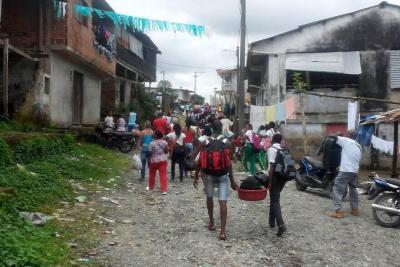 Procuraduría solicitó informe  por desplazamientos masivos
