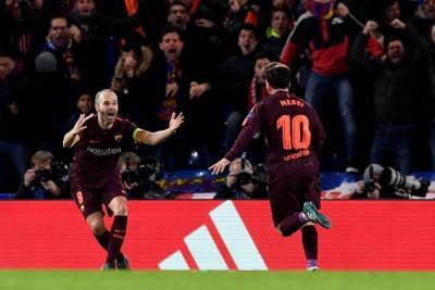 Barcelona rescató un valioso empate 1-1 ante el Chelsea en Liga de Campeones
