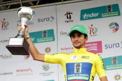 Imprudencia de conductor generó accidente de dos promesas del ciclismo santandereano