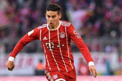 James Rodríguez sería titular del Bayern en octavos de final de la Liga de Campeones