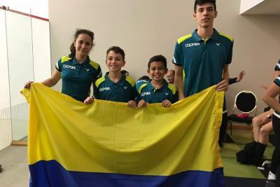 Squash nacional con cuota santandereana