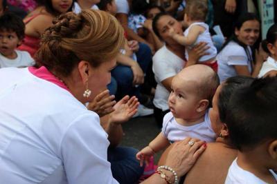 En La Cumbre termina la gran movilización por los derechos de los menores