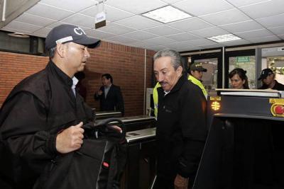 A puerta cerrada avanza audiencia contra Hugo Aguilar