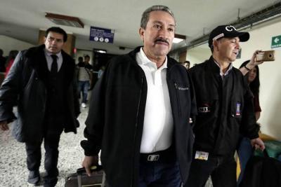 Juez legalizó la captura de Hugo Aguilar Naranjo