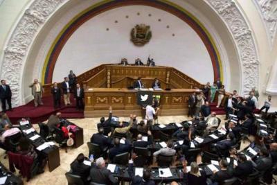 """""""Golpe de Estado contra el Parlamento"""", denuncia la oposición venezolana"""