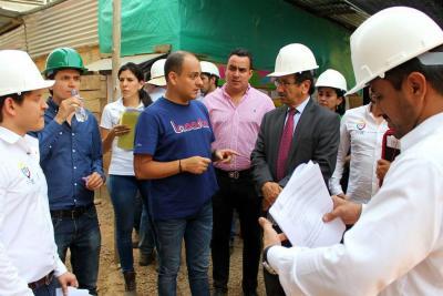 En agosto se entregarán los dos primeros megacolegios en Girón