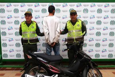 Hombre fue enviado a la cárcel luego de  ser acusado de hurtar una motocicleta
