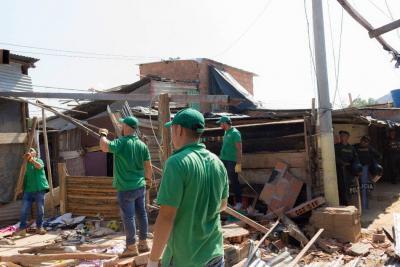 Recuperan siete viviendas donde se vendían alucinógenos en Girón