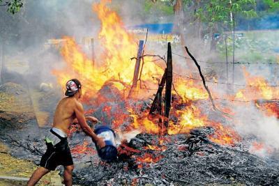 Siguen las emergencias por imprudencias en Bucaramanga