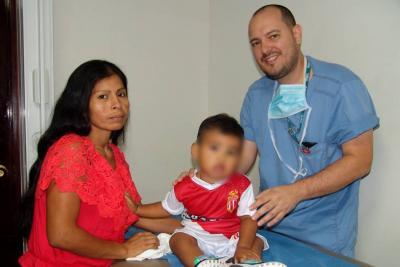 Médicos santandereanos le salvaron el riñón a un niño de un año