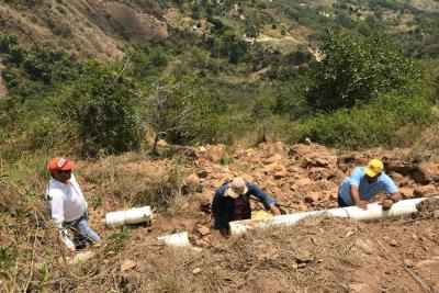 Daño en tubería afectó acueducto en Los Santos