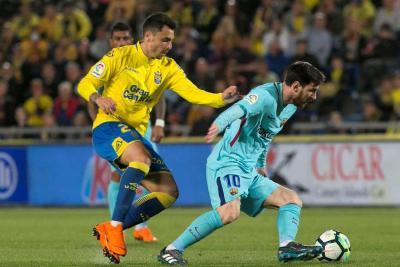 Barcelona empató 1-1 con Las Palmas por la Liga española