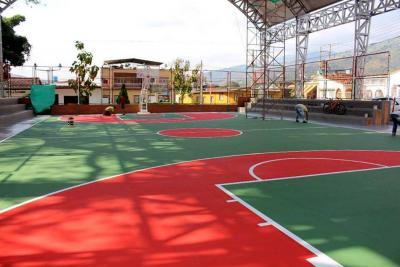 Polideportivo de Las Hermanas ya quedará listo para el servicio
