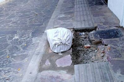 Alcaldía de Girón no recibirá la obra de la Alameda de las Nieves