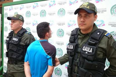 Capturan hombre que cobraba para devolver documentos robados en Bucaramanga