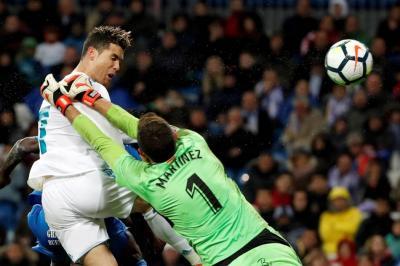 Real Madrid venció 3-1 al Getafe con dos goles de Cristiano