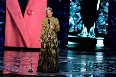Recuperaron estatuilla del Óscar, robada a actriz Frances McDormand