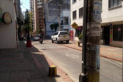 """Este conductor """"se cree el dueño del espacio público"""" en Bucaramanga"""