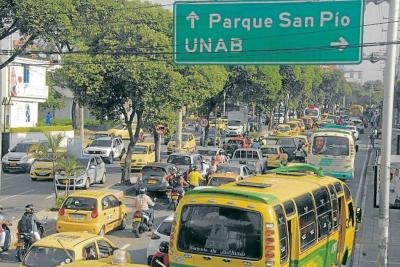 Cabecera también es caótica en Bucaramanga