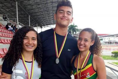 Atletas santandereanos brillaron en la Copa de Lanzamientos