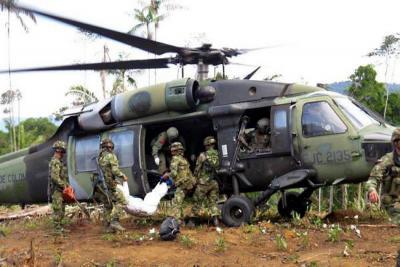 Bombardeo contra el Eln en Antioquia deja 10 guerrilleros muertos