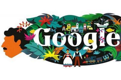 Google conmemora el nacimiento de Gabriel García Márquez